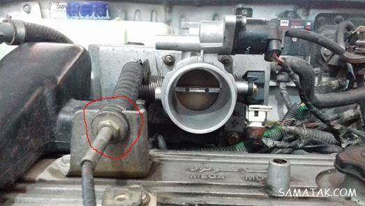 علت سفت شدن پدال گاز | چگونه پدال گاز را نرم کنیم
