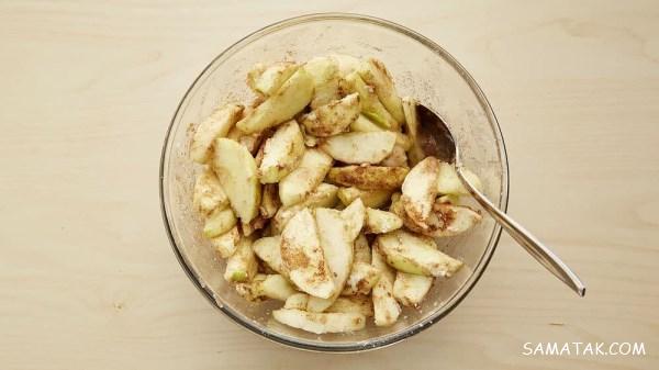 طرز تهیه کیک سیب و دارچین در فر | بهترین دستور پخت کیک سیب و دارچین