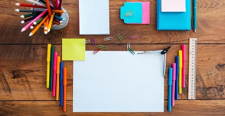 علامت گذاری با رنگ ها موقع درس خواندن