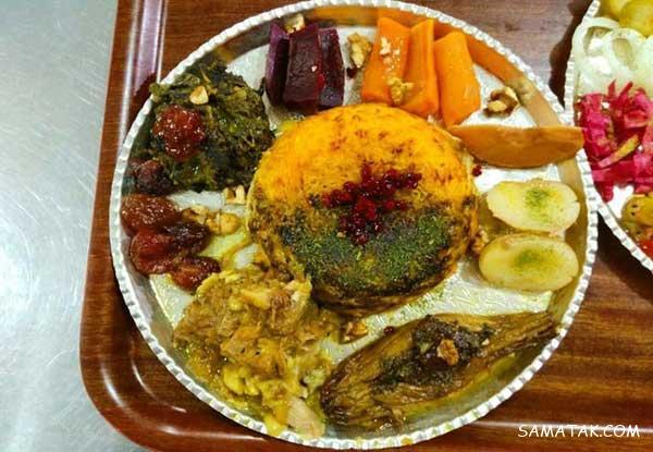 دستور پخت ته چین شهمیرزادی غذای محلی استان سمنان