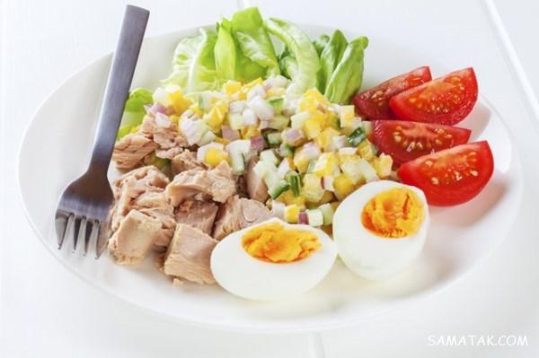 کالری تخم مرغ آب پز چقدر است؟ | میزان کالری زرده تخمه مرغ