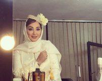 ماجرای ازدواج و عکس های عروسی الهام حمیدی و همسرش