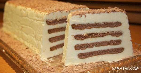 بیسکویت پتی بور شیر وانیل طرز تهیه دسر با بیسکویت پتی بور خرد شده و موز | طرز تهیه ...