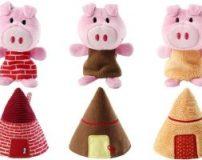آموزش ساخت عروسک خوک نمدی با الگو | طرز دوخت عروسک خوک نمدی