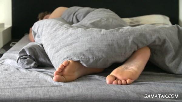 علت تکان خوردن دست و پا در خواب | درمان تکان خوردن دست و پا در خواب