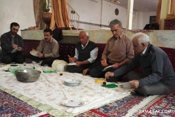 عکس هفت سین قرآنی؛ نوشتن هفت سین قرآنی با زعفران