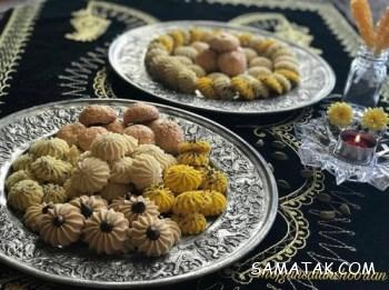 مواد اولیه و طرز تهیه شیرینی نسکافه ای گردویی برای عید
