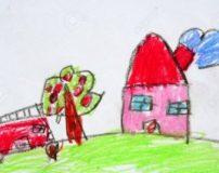 50 مدل نقاشی ساده برای کودکان | نقاشی های زیبا و ساده دخترانه