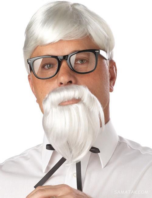مدل ریش پروفسوری بلند | مدل ریش پروفسوری برای صورت کشیده