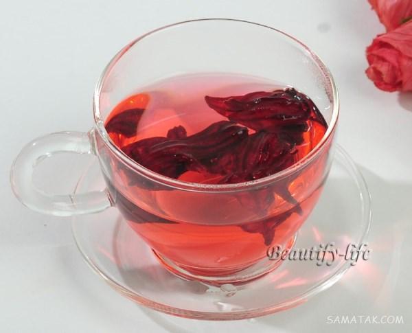 طرز تهیه چای ترش برای لاغری   خواص چای ترش برای لاغری شکم