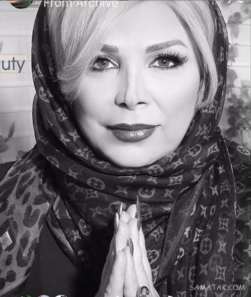 بیوگرافی شیوا خنیاگر بازیگر زن 52 ساله و همسرش + تصاویر اینستاگرام