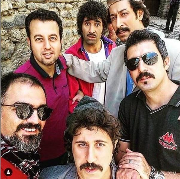 بیوگرافی هومن حاجی عبداللهی بازیگر 44 ساله و همسرش + آدرس اینستاگرام