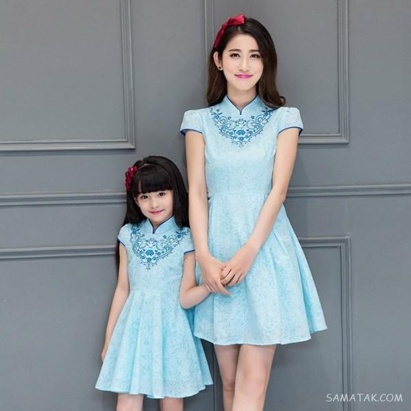 لباس مجلسی ست مادر و دختر از کجا بخرم | لباس مجلسی ست مادر و دختر برای عروسی