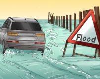 آموزش رانندگی در سیل و عبور از سیلاب با خودرو