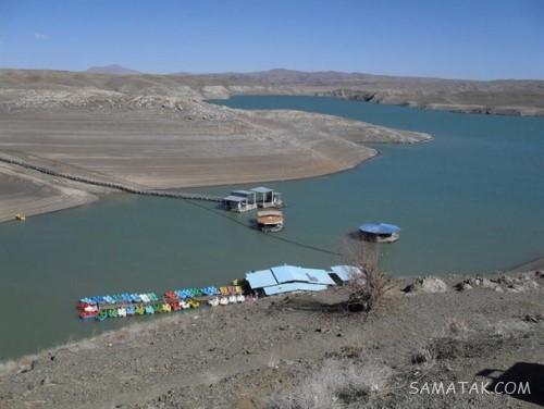 سرریز شدن سد زاینده رود | وضعیت آب سد زاینده رود امروز + تصاویر