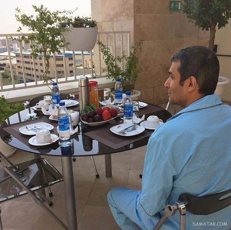 آریا عظیمی نژاد | همسر و پسر و بیوگرافی آریا عظیمی نژاد