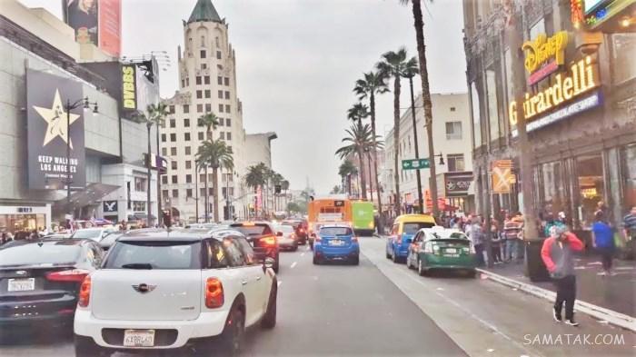 عکس های شهر هالیوود و محل زندگی ثروتمندان و بازیگران آمریکا