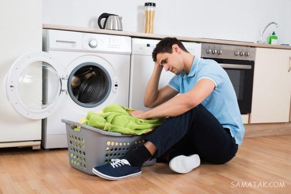 علت تکان خوردن زیاد و شدید ماشین لباسشویی + جلوگیری از تکان خوردن ماشین لباسشویی
