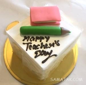 کیک روز معلم ؛ عکس انواع مدل کیک روز معلم جدید بدون فوندانت