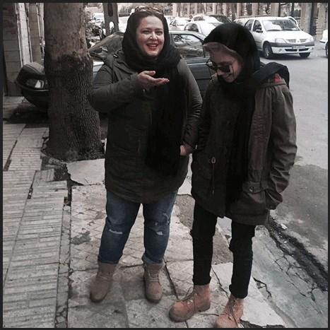 تصاویر پریا قاسم خانی با تیپ خفن | پریا دختر بهاره رهنما کجاست