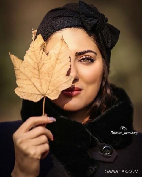 عکس های لو رفته هلیا امامی با تیپ خفن و مدل مانتو جدید