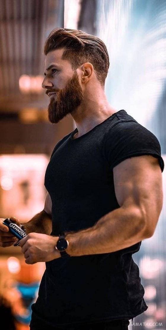 مدل موی سایه روشن خامه ای مردانه جدید (کوتاه - بلند)