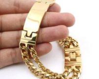 70 مدل دستبند طلا مردانه جدید شیک و لاکچری