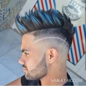 مدل موی سایه روشن خامه ای مردانه جدید (کوتاه – بلند)