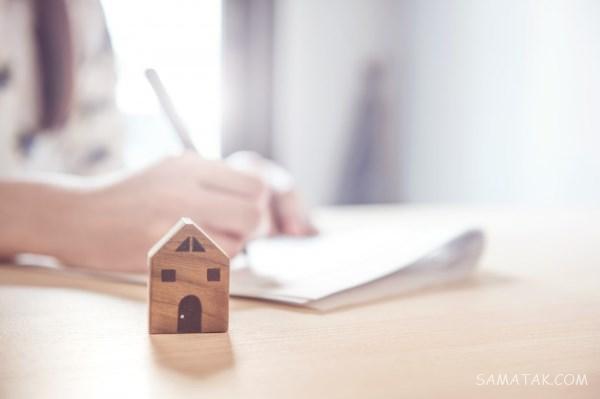 فرم نمونه متن تمدید قرارداد اجاره خانه | اعتبار پشت نویسی اجاره نامه