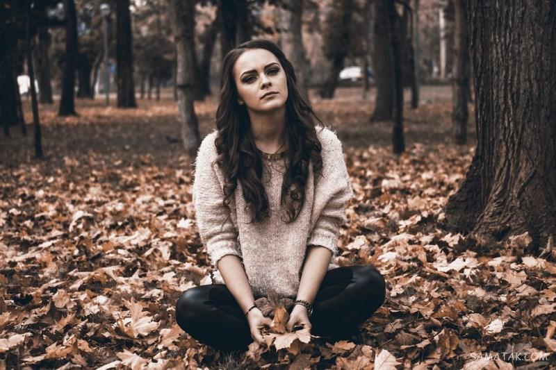 عکس دپ دخترونه بدون متن برای پروفایل