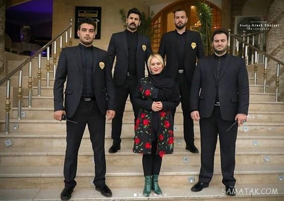 عکسهای لو رفته جدید از صبا کمالی بی حجاب و همسرش