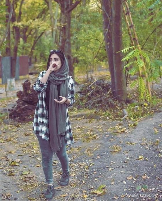 70 نمونه ژست عکاسی ایستاده دخترانه لاکچری
