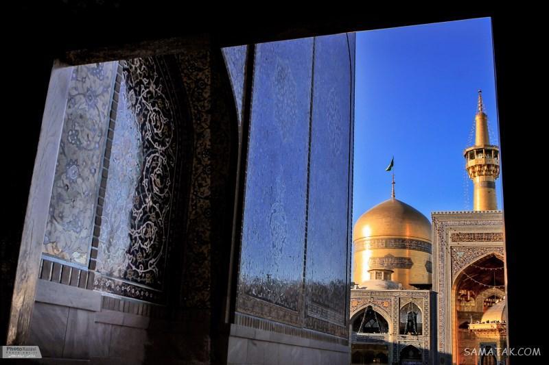 عکس حرم امام رضا برای موبایل جدید (روز - شب)