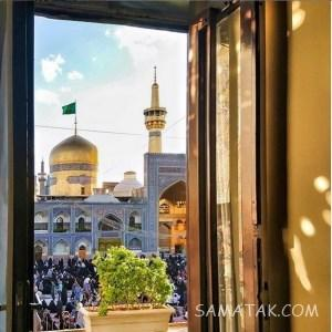 عکس حرم امام رضا برای موبایل جدید (روز – شب)