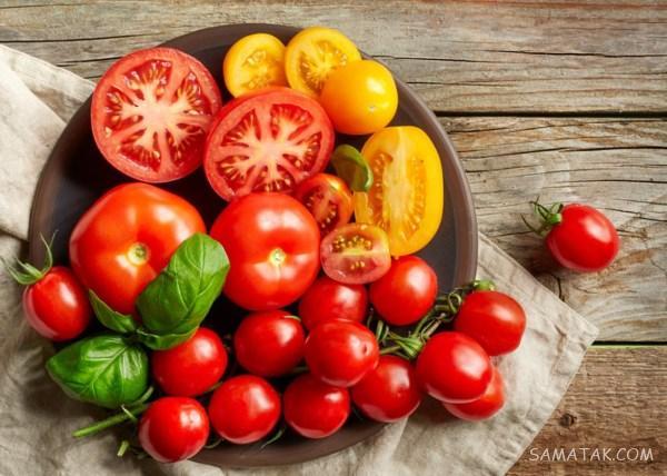 تعبیر خواب گوجه فرنگی قرمز - پخته - خوردن - سبز - رسیده و گندیده