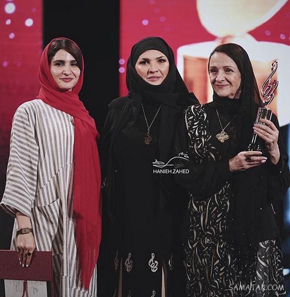 عکس بازیگران در نوزدهمین جشن حافظ ۹۸ برج میلاد تهران