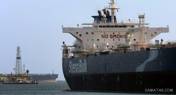 فیلم توقیف نفتکش انگلیسی در خلیج فارس توسط سپاه ایران