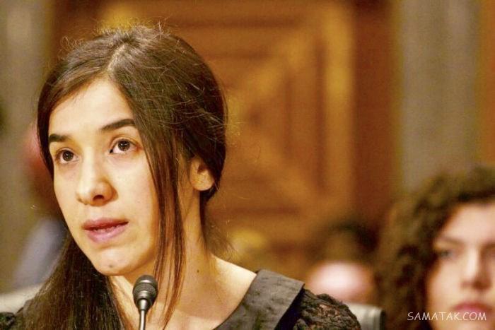 نادیا مراد زیباترین دختر کُرد، برده جنسی داعش شد (تصاویر 18+)