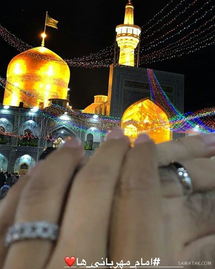 عکس های مراسم عقد و ازدواج سوگل طهماسبی و همسرش