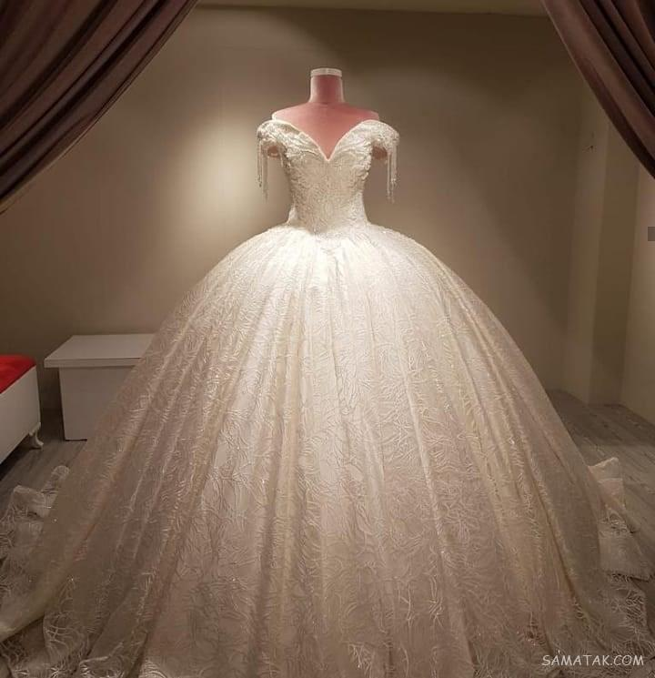 عکس انواع مدل لباس عروس ایرانی خوشگل