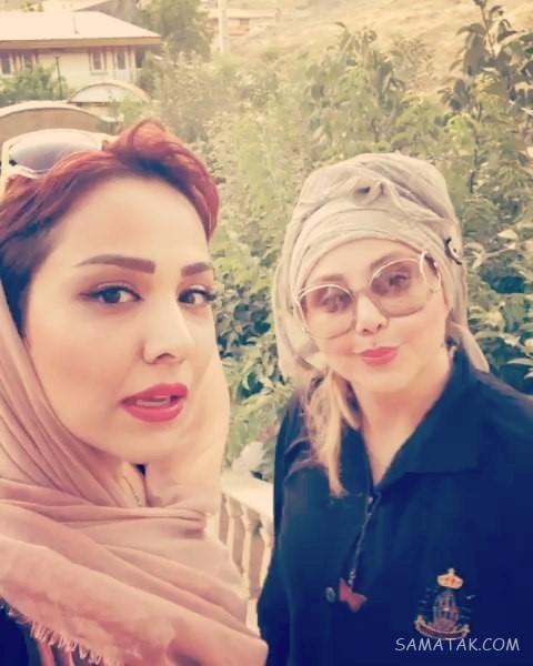 فیلم و عکس بادیگارد های بهنوش بختیاری در تهران
