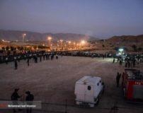 فیلم لحظه اعدام حمیدرضا درخشنده قاتل امام جمعه کازرون (18+)