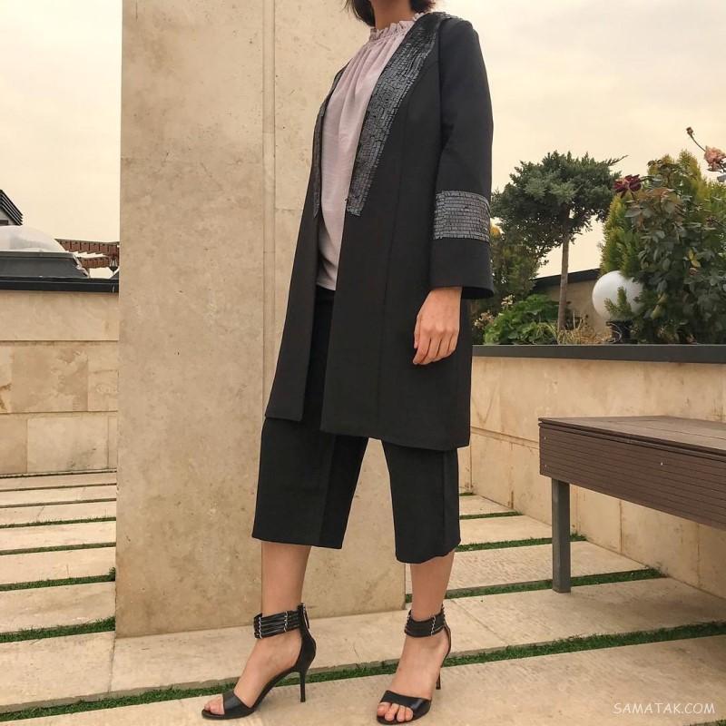 مدل مانتو مشکی برای محرم ۹۹ (زنانه - دخترانه)