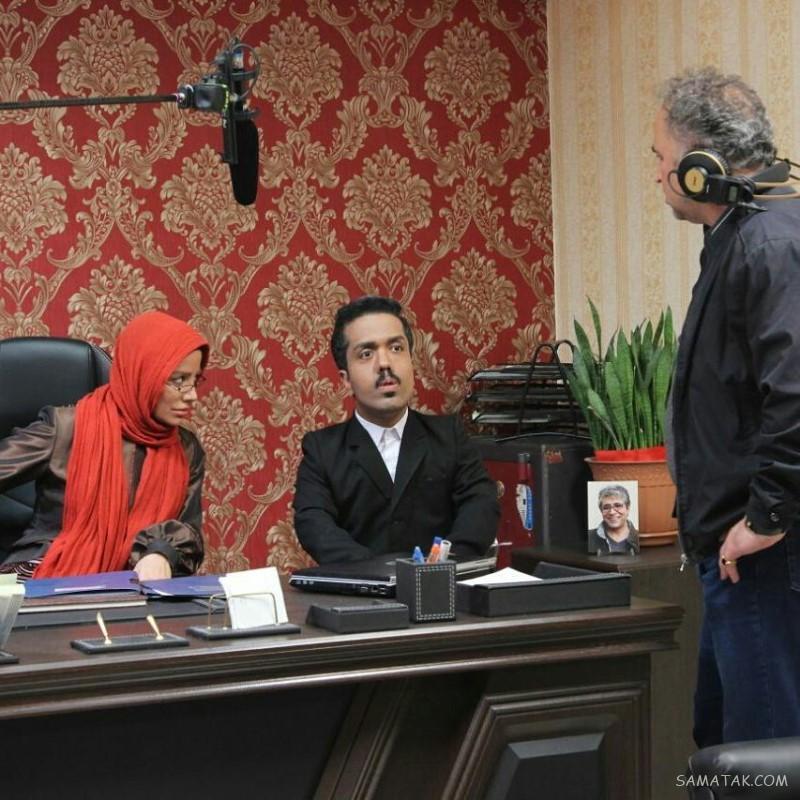 عکس امید علیمردانی بازیگر نقش رستم در سریال ستایش