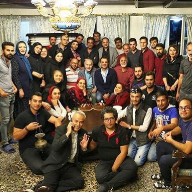 بازیگران فصل سوم سریال ستایش در پشت صحنه (عکس)