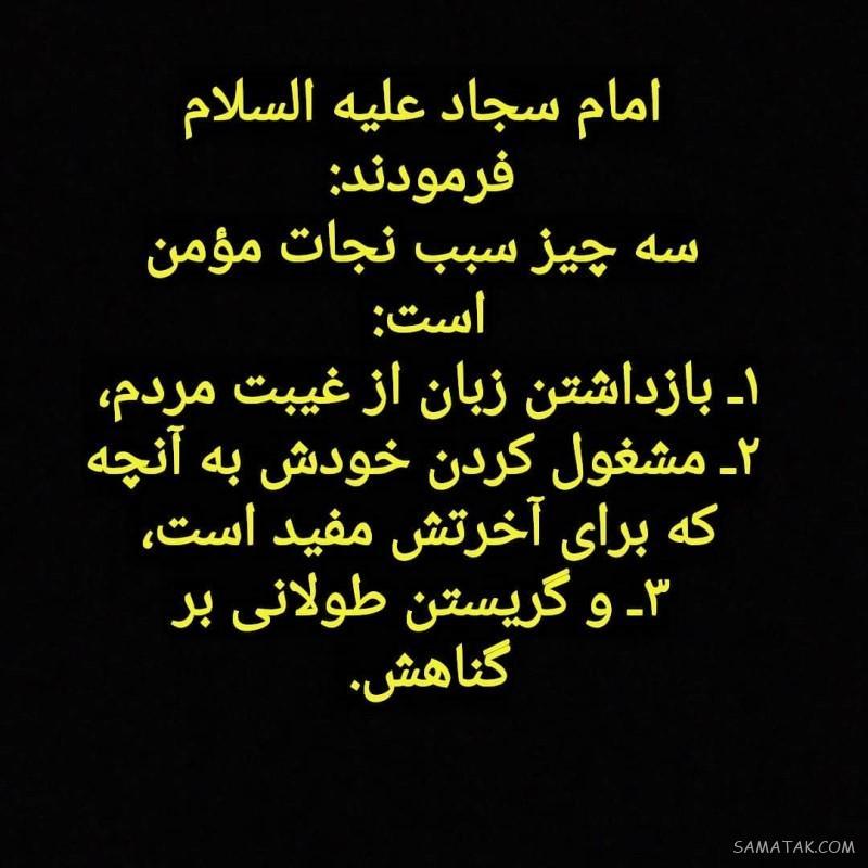 عکس پروفایل شهادت امام سجاد زین العابدین علیه السلام
