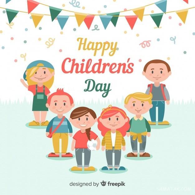 روز جهانی کودک مبارک (عکس نوشته، متن شعر، پیام تبریک، پروفایل)