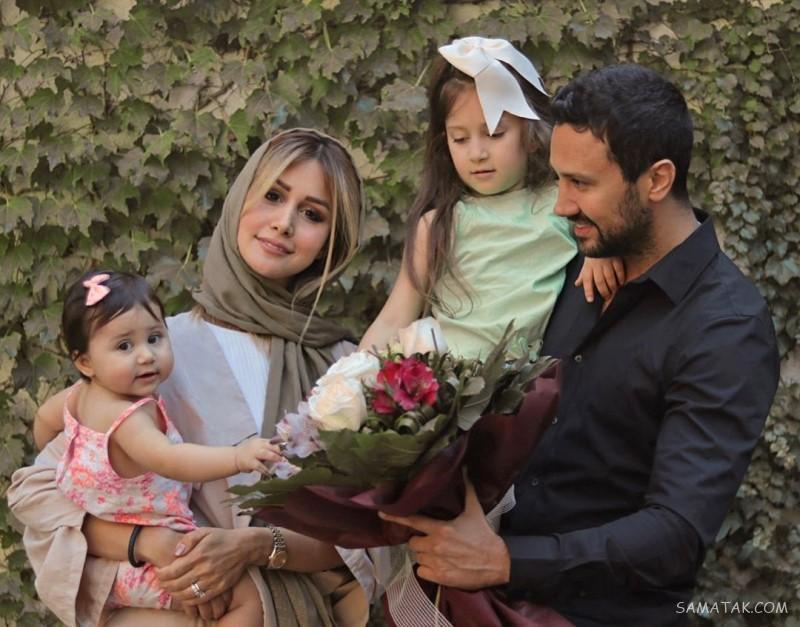 بیوگرافی سپیده بزمی پور همسر شاهرخ استخری + عکسها