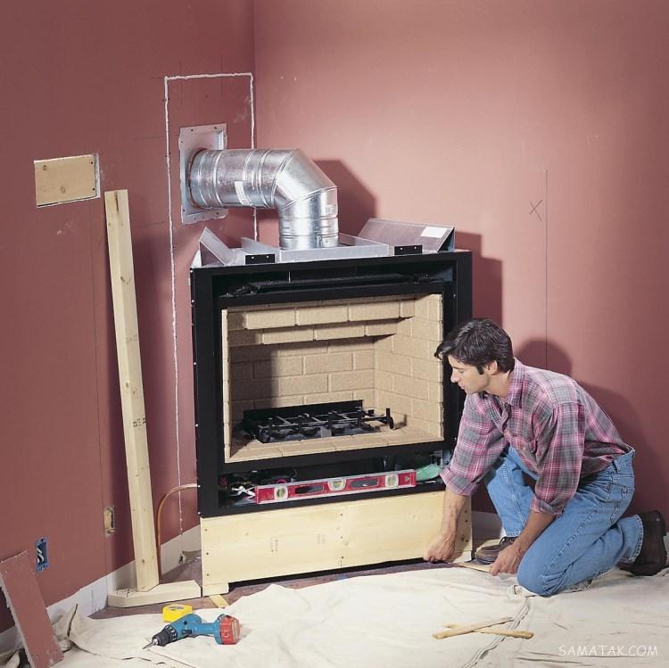 سرد بودن لوله بخاری نشانه چیست | رفع مشکل سرد شدن لوله بخاری گازی