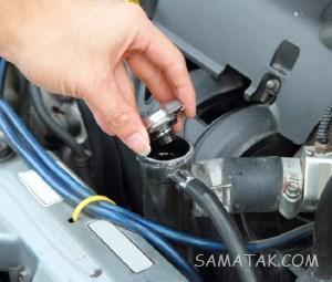 علت کم کردن آب رادیاتور خودرو   چرا رادیاتور ماشین آب کم میکند